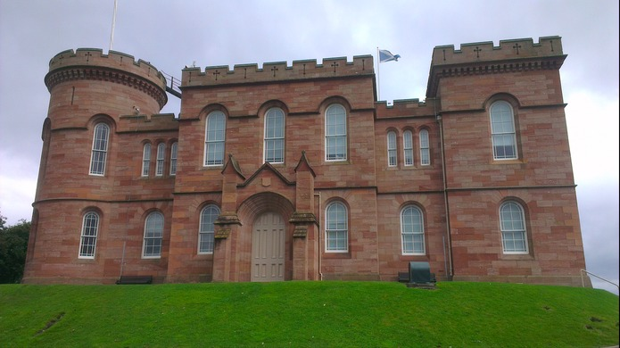 Inspiration in Inverness, Scotland, United Kingdom