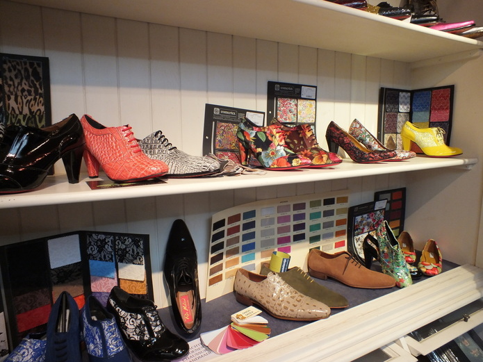 Shop in Brugge, Flanders, Belgium