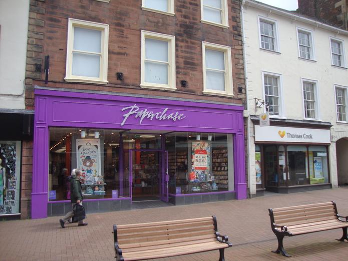 Shop in Carlisle, Cumbria, England, United Kingdom